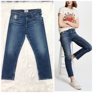 Agolde Jeans The Isabel Slim Straight High Rise 26